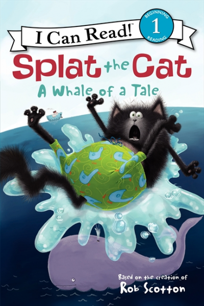 Splat the Cat: A Whale of a Tale: Level 1 a cat that doesn t like its home