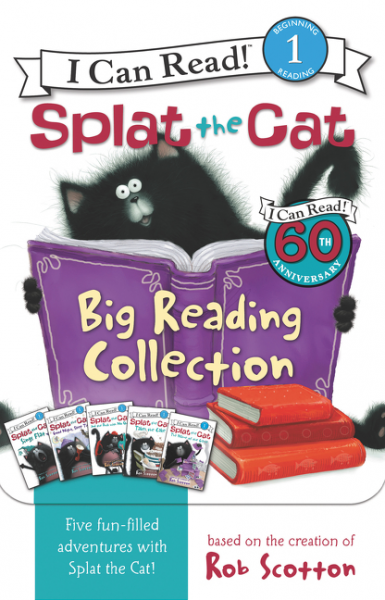 Splat the Cat: Big Reading Collection (комплект из 5 книг) the john green collection комплект из 5 книг