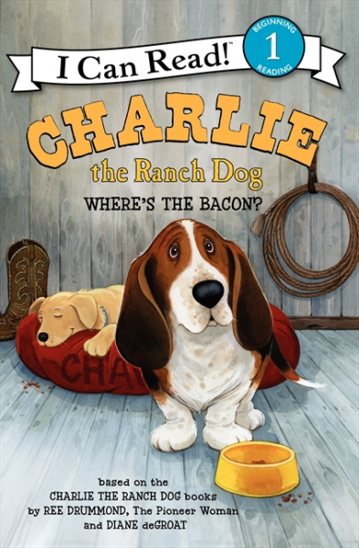Charlie the Ranch Dog: Where's the Bacon? (Level 1) 331 kinds of world famous dog domestication and appreciation book novice domesticated dog books