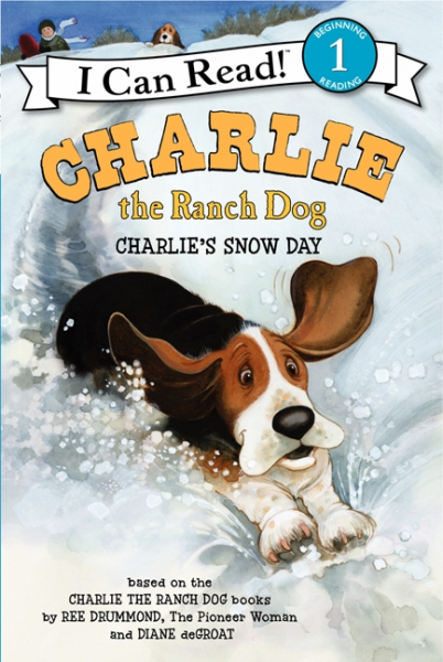 Charlie the Ranch Dog: Charlie's Snow Day (Level 1) 30pcs in one postcard take a walk on the go dubai arab emirates christmas postcards greeting birthday message cards 10 2x14 2cm