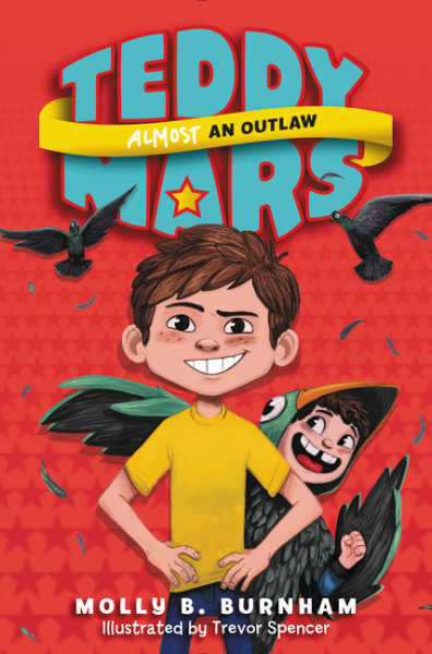 Teddy Mars Book #3: Almost an Outlaw an anthropologist on mars