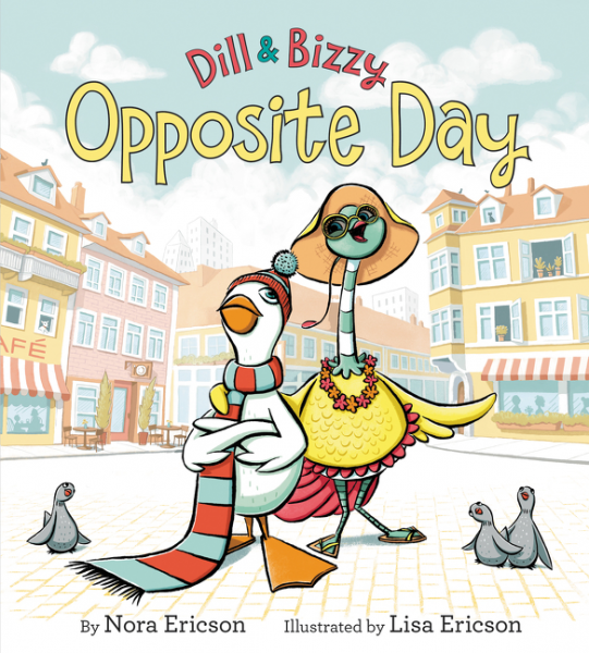 Dill & Bizzy: Opposite Day the building opposite