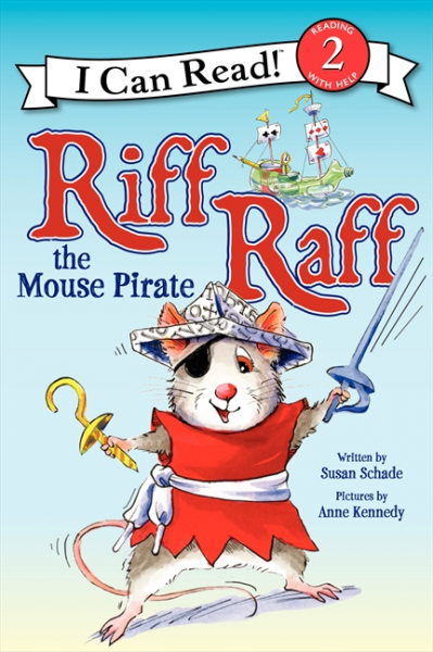Riff Raff the Mouse Pirate (Level 2) pirate jack level 2