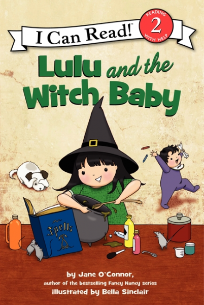 Lulu and the Witch Baby (Level 2) lulu goes to witch school level 2