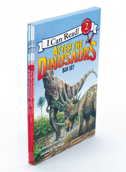 After the Dinosaurs 3-book Box Set (Level 2) harry and the dinosaurs have a happy birthday