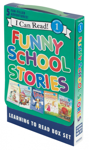 Funny School Stories: Learning to Read 5-Book Box Set (Level 1) i funny school of laughs