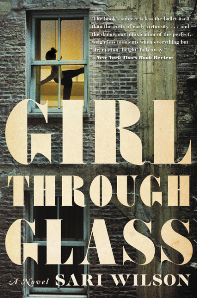 Girl Through Glass behind the wall a journey through china