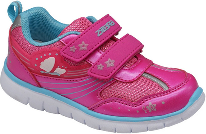 Кроссовки для девочки Зебра, цвет: малиновый. 11902-22. Размер 2611902-22Кроссовки для девочки Зебра выполнены из искусственной кожи и дышащего текстиля. Застежки-липучки обеспечивают надежную фиксацию обуви на ноге ребенка. Подкладка выполнена из текстиля, что предотвращает натирание и гарантирует уют. Стелька с поверхностью из натуральной кожи оснащена небольшим супинатором с перфорацией, который обеспечивает правильное положение ноги ребенка при ходьбе и предотвращает плоскостопие. Подошва с рифлением обеспечивает идеальное сцепление с любыми поверхностями.