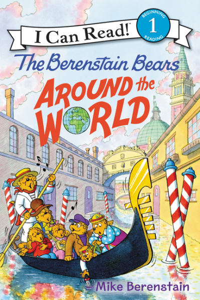Berenstain Bears Around the World  (level 1) you are here around the world in 92 minutes