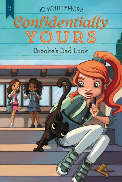Confidentially Yours #5: Brooke's Bad Luck, Зарубежная литература для детей  - купить со скидкой