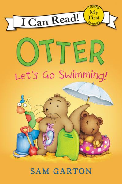 Otter: Let's Go Swimming! llama llama sand and sun