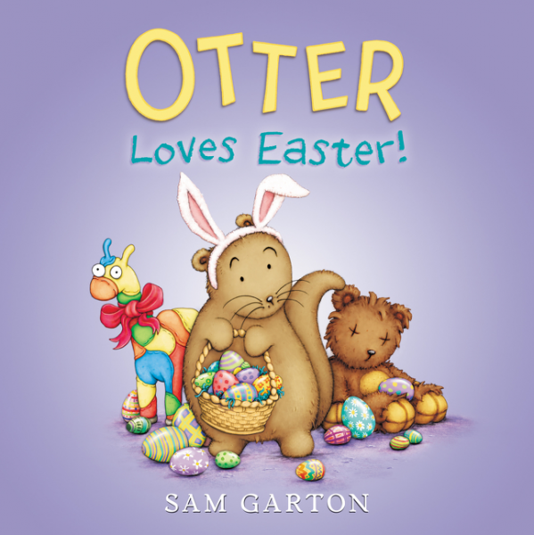 Otter Loves Easter! llama llama sand and sun