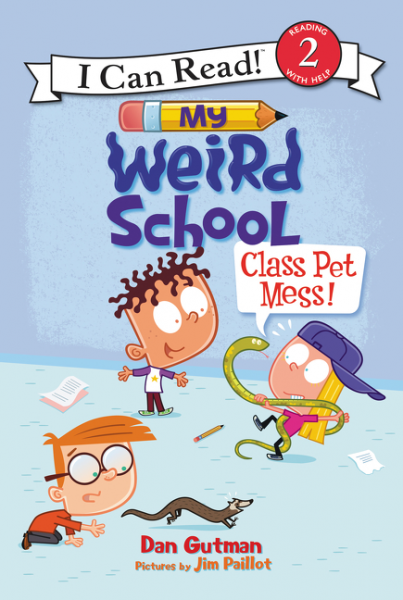 My Weird School: Class Pet Mess! my weird school goes to the museum level 2