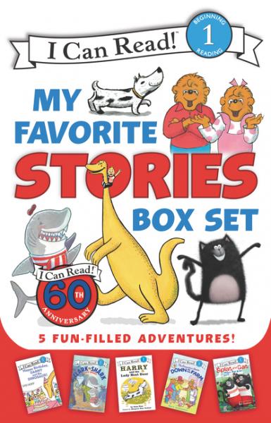 My Favorite Stories 5-Book Box Set (Level 1) dinosaur animals model winder hunter utahraptor classic toys for boys children with retail box