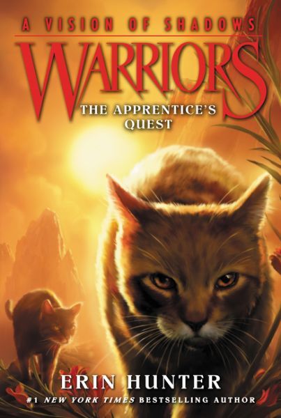 Warriors: A Vision of Shadows #1: The Apprentice's Quest hunter е warriors omen of the stars 5 the forgotten warrior