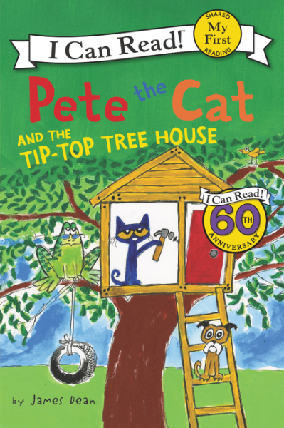 Pete the Cat and the Tip-Top Tree House the halloween tree