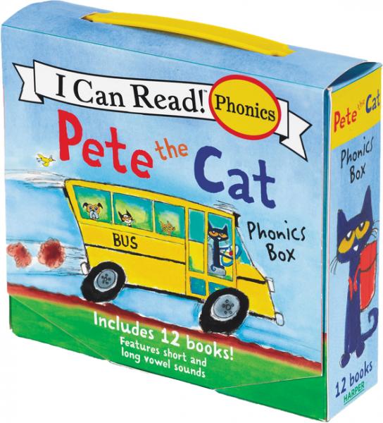 Pete the Cat Phonics Box, Зарубежная литература для детей  - купить со скидкой