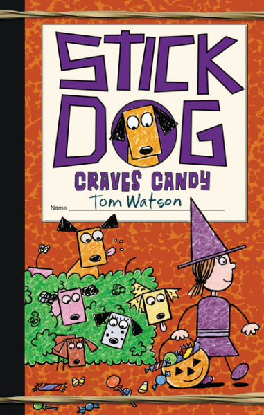 Stick Dog Craves Candy stick dog slurps spaghetti