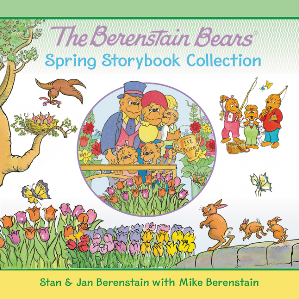 The Berenstain Bears Spring Storybook Collection, Зарубежная литература для детей  - купить со скидкой
