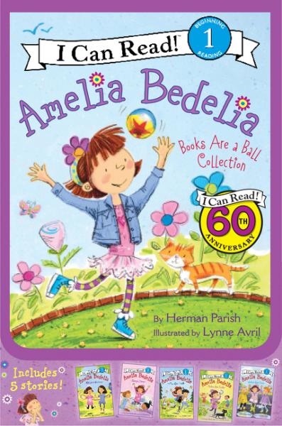 Amelia Bedelia ICR Box Set #2: Books Are a Ball Collection, Зарубежная литература для детей  - купить со скидкой