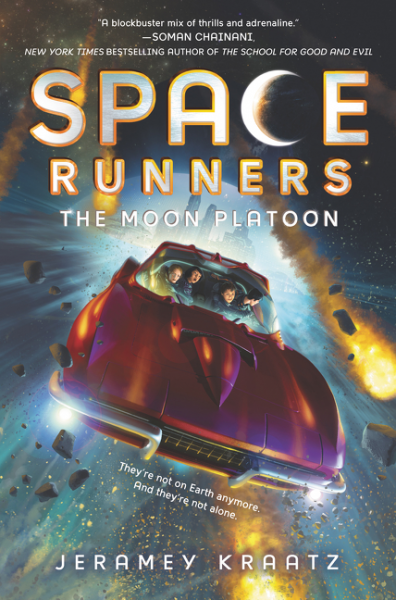 Space Runners #1: The Moon Platoon from the earth to the moon