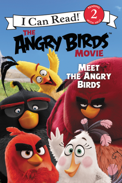 Angry Birds Movie: Meet the Angry Birds (Level 2) hatber дневник школьный angry birds movie 40дт5в 15389