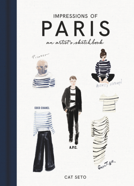Impressions of Paris: An Artist's Sketchbook paris portrait of a city