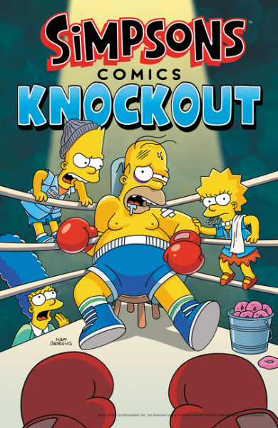 Simpsons Comics Knockout like a virgin secrets they won t teach you at business school