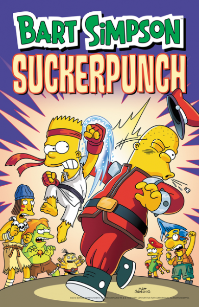 Bart Simpson Sucker Punch need for speed rivals