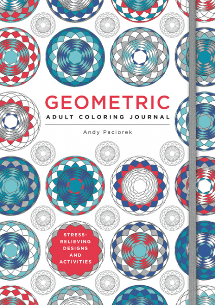 Geometric Adult Coloring Journal