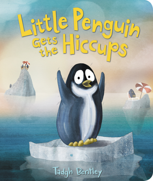 Little Penguin Gets the Hiccups Board Book the little book of batman