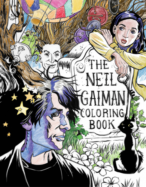 The Neil Gaiman Coloring Book gaiman neil sandman vol 06 new ed