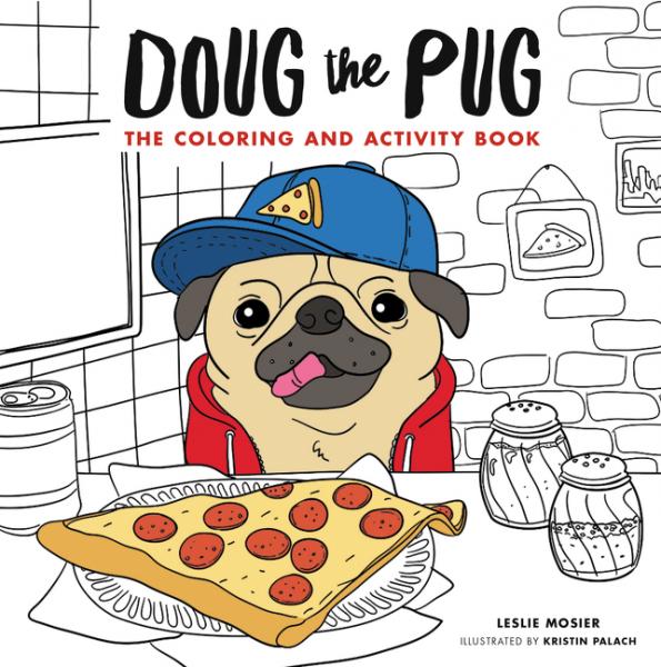 Doug the Pug coloring of trees