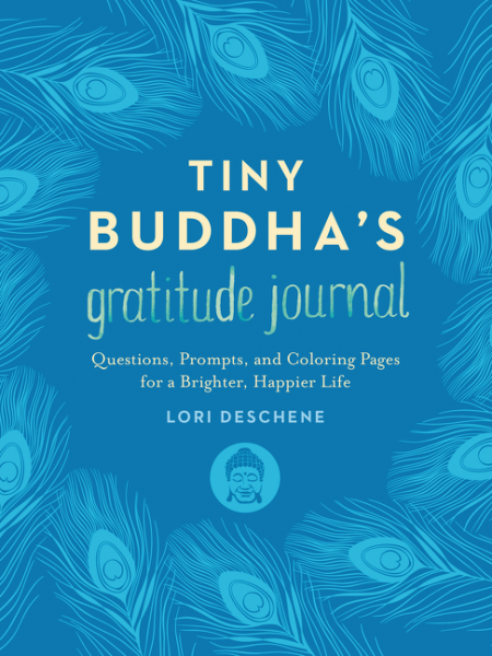 Tiny Buddha's Gratitude Journal new lepin 15002 2133pcs cafe corner model building kits blocks kid diy educational toy children day gift brinquedos 10182