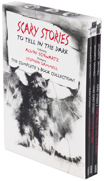 Scary Stories Paperback Box Set майка print bar scary rabbit