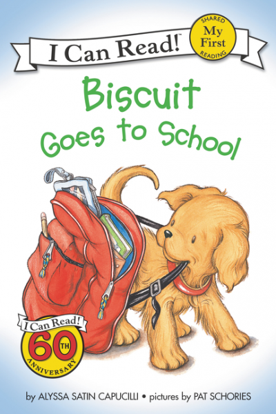 Biscuit Goes to School (My First I Can Read) lucky goes to school
