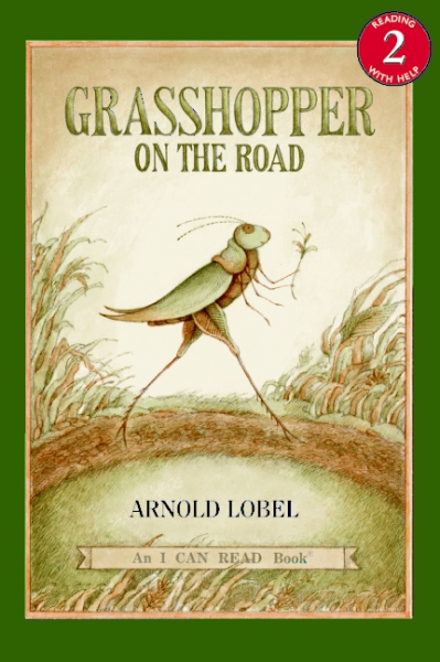 Grasshopper on the Road (Level 2) on the road