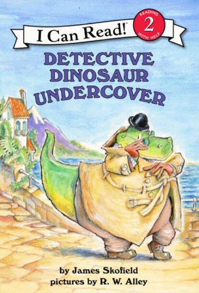 Detective Dinosaur Undercover  (Level 2) flat stanley goes camping level 2