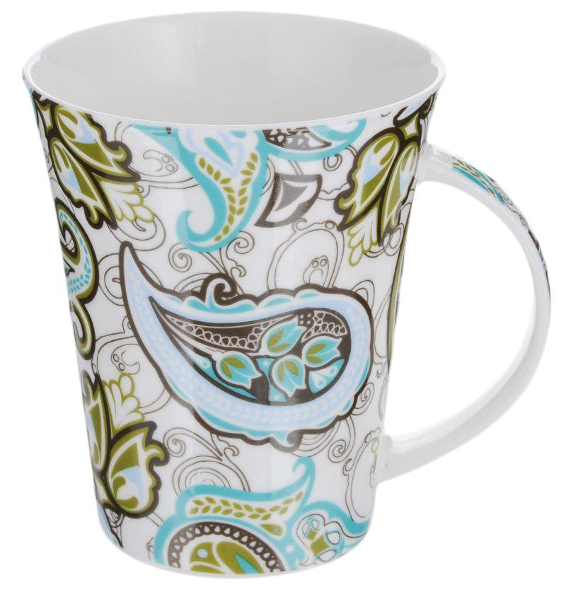 Кружка Фарфор Вербилок Арабеска. Голубой сапфир. 1129031011290310Красивая фарфоровая кружка способна скрасить любое чаепитие. Посуда из такого материала позволяет сохранить истинный вкус напитка, а также помогает ему дольше оставаться теплым.