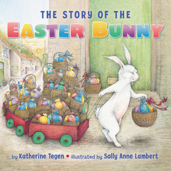 The Story of the Easter Bunny Board Book easter day basket branch bunny photo studio background easter photography backdrops page 9