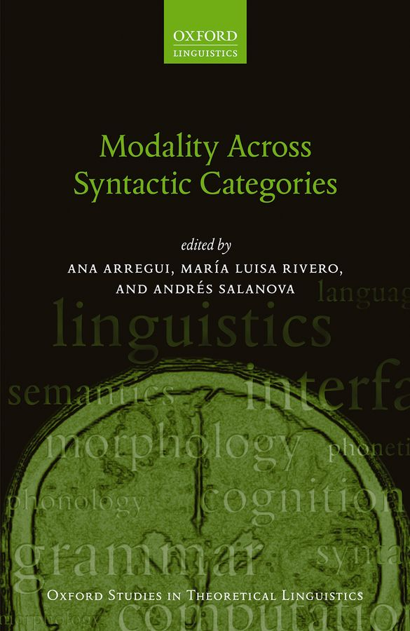 Modality Across Syntactic Categories categories