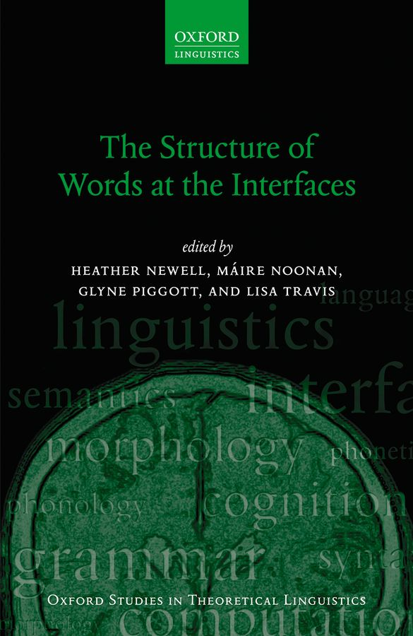 The Structure of Words at the Interfaces купить