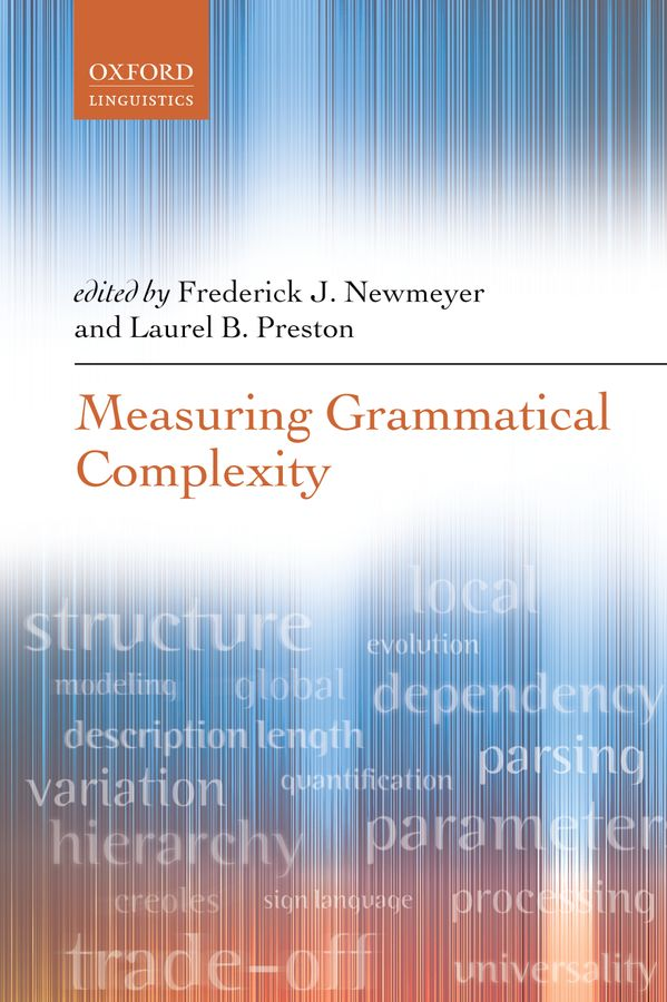 Measuring Grammatical Complexity the syntax and semantics of possessive structures in nzema