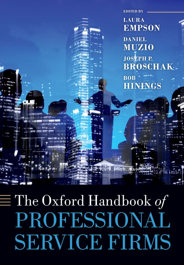 The Oxford Handbook of Professional Service Firms the oxford handbook of language and society