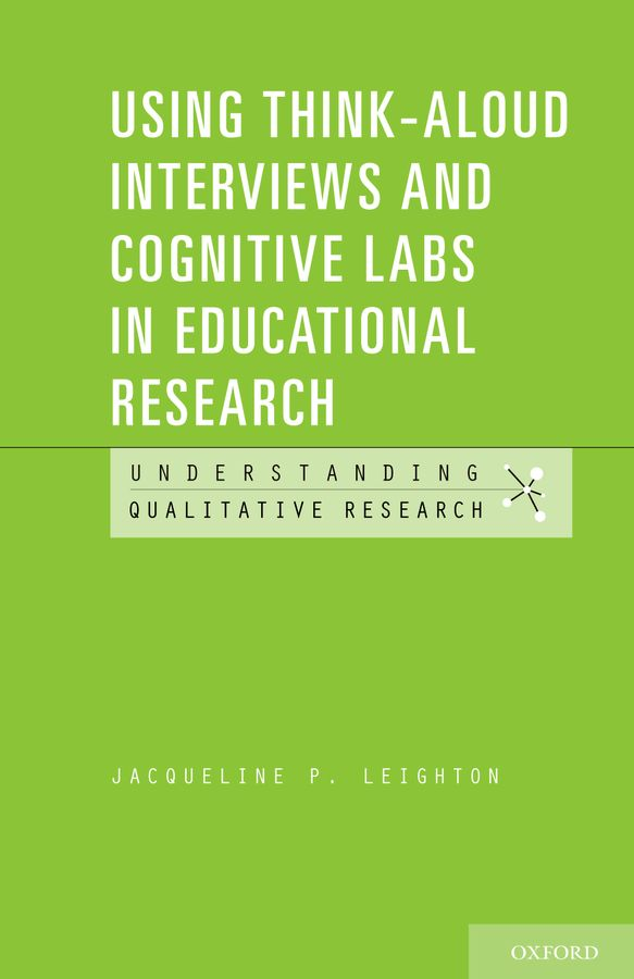 Using Think-Aloud Interviews and Cognitive Labs in Educational Research reading for first student s book