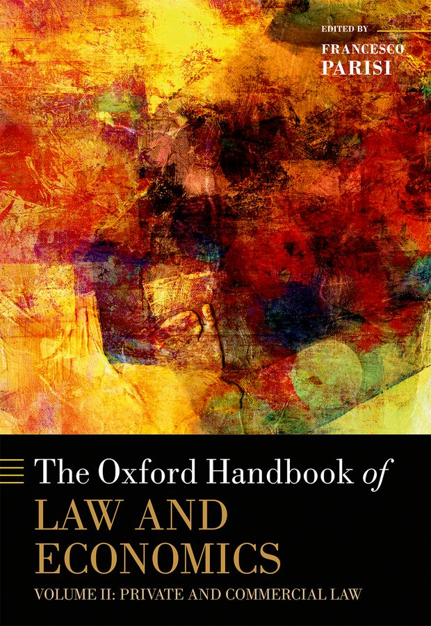 The Oxford Handbook of Law and Economics oxford dictionary of economics