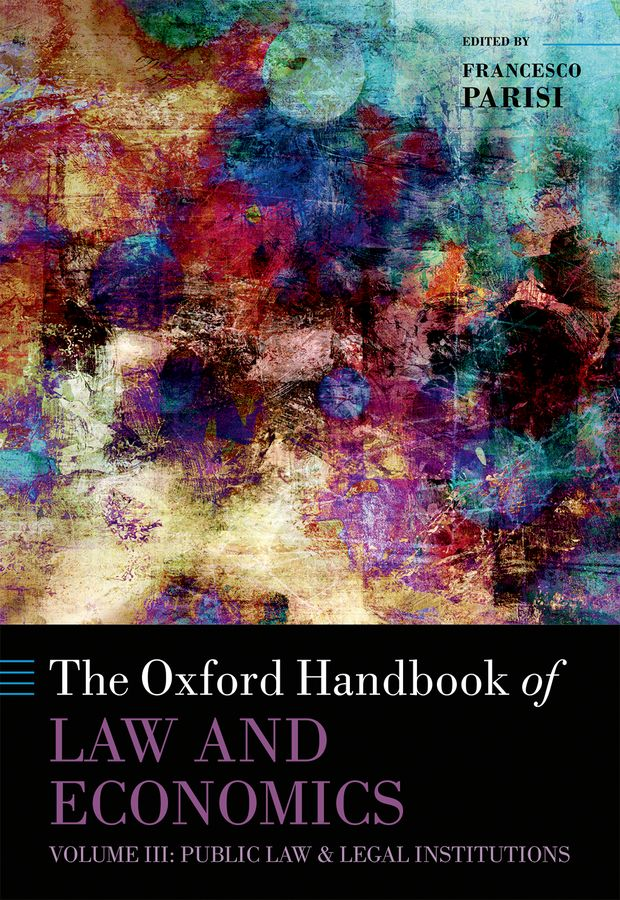 The Oxford Handbook of Law and Economics k h j buschow handbook of magnetic materials volume 7