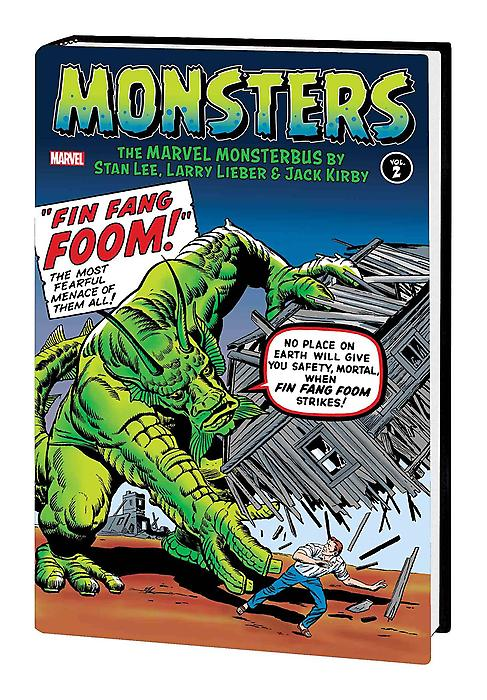 Monsters Vol. 2: The Marvel Monsterbus monsters of folk monsters of folk monsters of folk