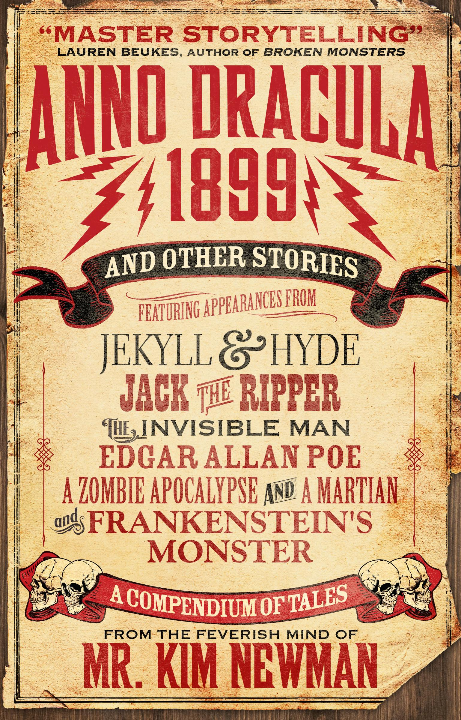 Anno Dracula 1899 and Other Stories dracula