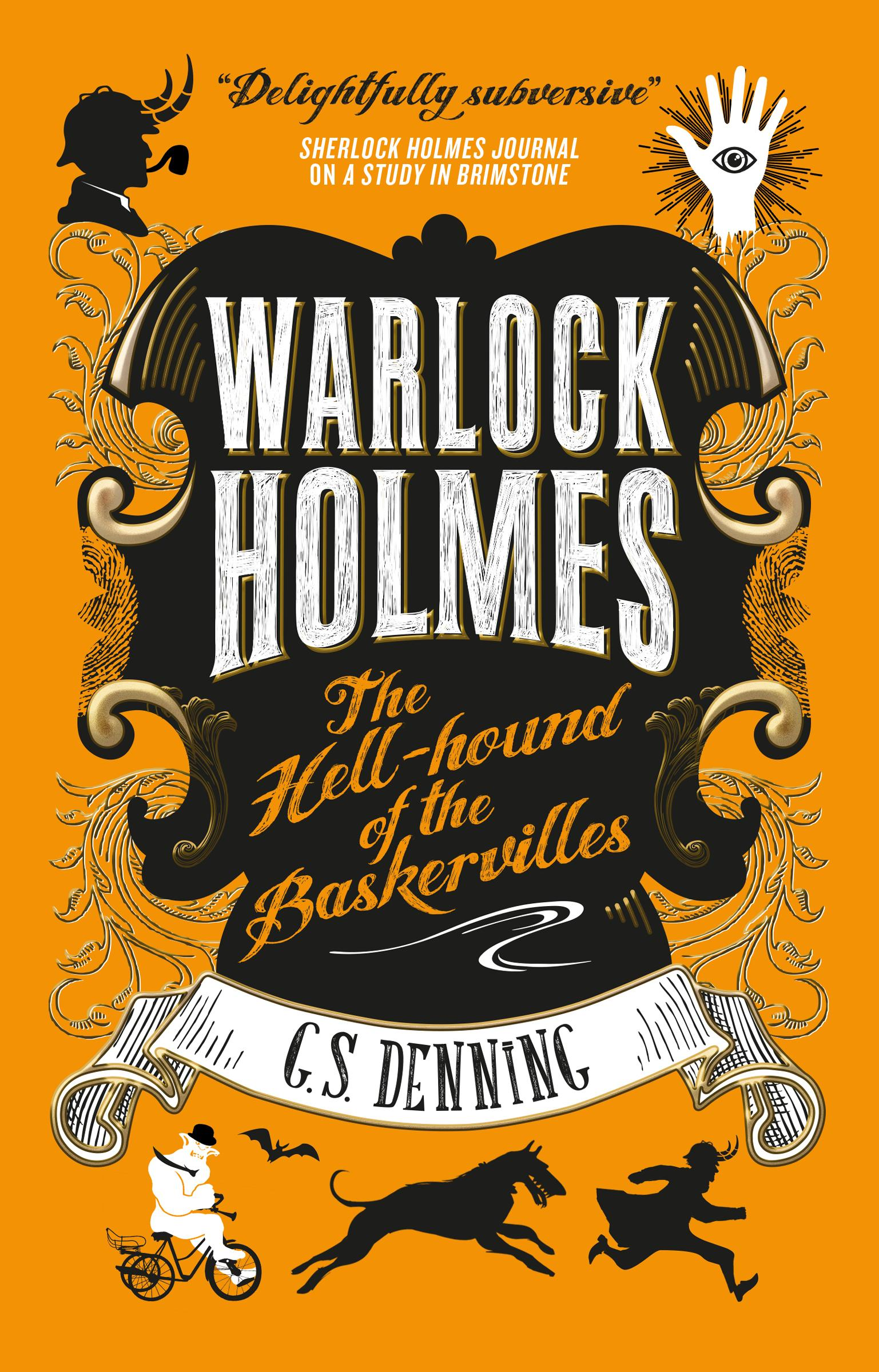 Warlock Holmes - The Hell-Hound of the Baskervilles the hound of the baskervilles